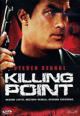 DVD Killing Point  Scritto e Interpretato Da Steven Seagal