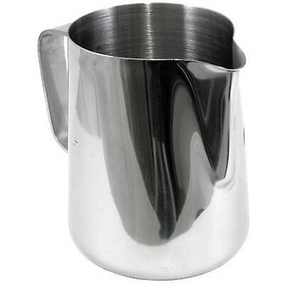 Premium Stainless Steel Water Latte Coffee Pitcher Foaming Milk Frothing Jug