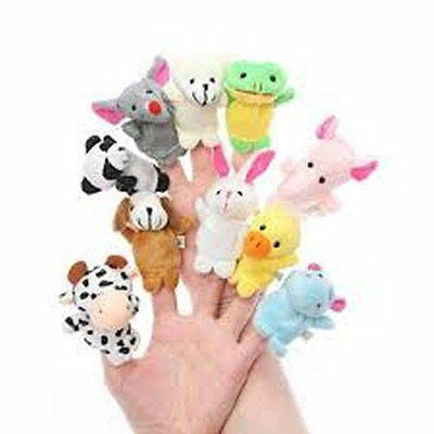 One Animal Finger Puppet - Child - Play - Toy - Fun - Game - Animal - Education