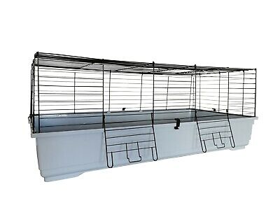 Heritage Rabbit 120Cm Purple Large Indoor Cage Guinea Pig Ferret Rodent Hutch
