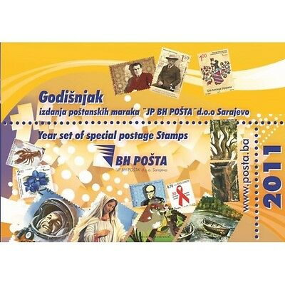 Year set of special postage stamps issued in 2011th