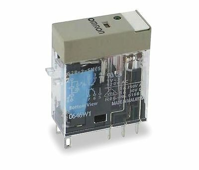 OMRON G2R-2-SN-DC24(S) Relay, 8 Pin, DPDT, 5A, 24VDC