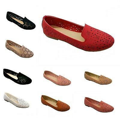 New Women Lace up Ballet Flats Pointy Toe Black,Taupe Faux Suede shoes #2991P