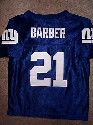 best sneakers 7d221 b09b6 THROWBACK NEW YORK NY Giants TIKI BARBER nfl Football Jersey ...