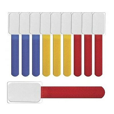 Label The Cable Mini - Mixed (Pack of 10) Velcro Cable Ties