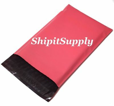 1-1000 9x12 ( Pink ) Color Poly Mailers Mailer Boutique Bags Fast Shipping