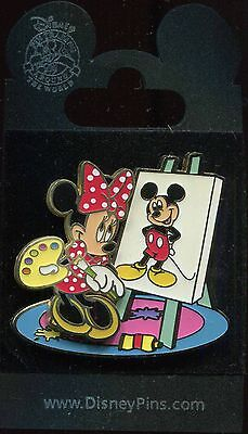 Painter Series Minnie Mouse Mickey Disney Pin 56572