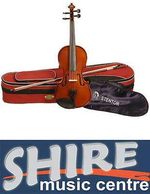 Stentor II 4/4 Size Student Violin Complete Full Sized Violin Outfit