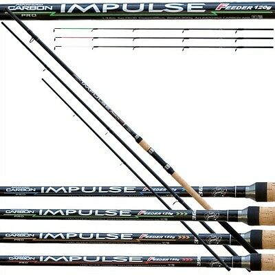 Team Specialist Canna da pesca In Carbonio Impulse Feeder  FDT