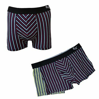 Lot 3 a 4 Boxer Homme Stared UOMO sexy confort couleur rayure M L XL XXL XXXL