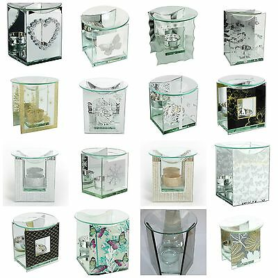 Glass Oil burner  with Free tealight