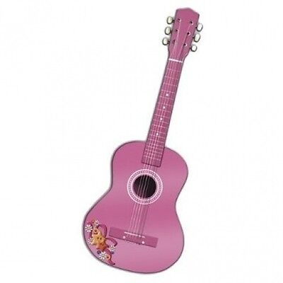 Reig 75cm Spanish Wooden Guitar (Pink). Free Delivery
