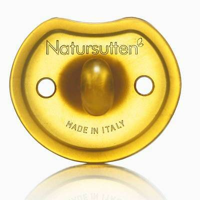 Natursutten Rounded 100% natural baby, and infant pacifier - Made in Italy
