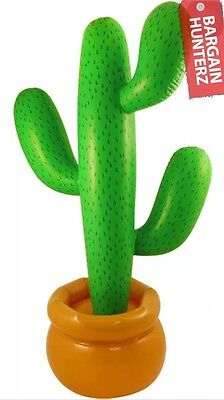 86cm Inflatable Cactus Mexican Scene Setter Green Party Decoration Swimming PooL