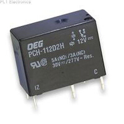 Te Connectivity / Oeg - Pch-112D2H - Relay, Pcb, Spdt, 12Vdc, 6A