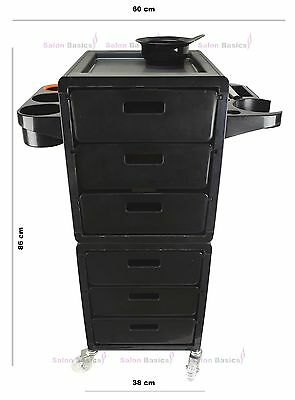 Large Salon Beauty Spa Hairdresser Hair Coloring Trolley Furniture