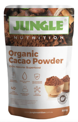 100% ORGANIC RAW PERUVIAN CACAO POWDER 500g