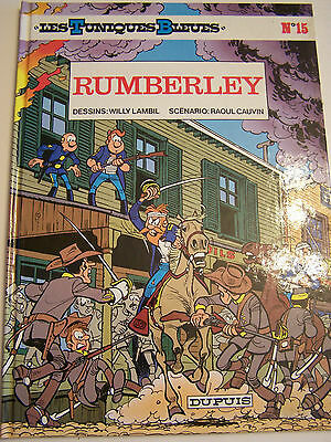 """Bd """" Les Tuniques Bleues """" Rumberley N° 15  . Comme Neuf."""
