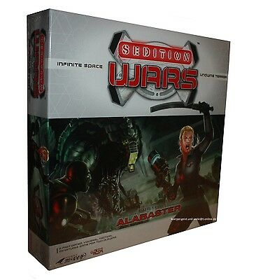 SEDITION WARS-BATTLE FOR ALABASTER-Brettspiel-Boardgame-neu-new-OVP