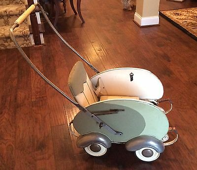 Rare Antique Bavaria Baby Stroller
