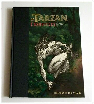 UNREAD Disney Out of Prnt 'Tarzan Chronicles' Art Book Signed 3x 1st Edition COA