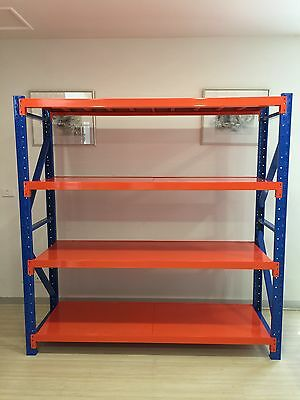 Limited time only 1.5M Width 800kgs Heavy Duty Garage Racking Warehouse Shelving