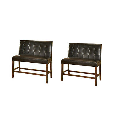 Ashley D328-323 Lacey Double UPH Barstool (2/CN) Medium Brown