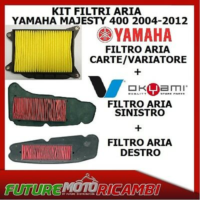 Kit Filtri Aria Yamaha Majesty 400 2004 2005 2006 2007 2008 2009 2010 Air Filter
