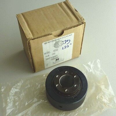 "Harmonic Drive Infinit-Indexer Coupling HD-50, 1250 Hub, 1.25"", Keyed Drive, NEW"