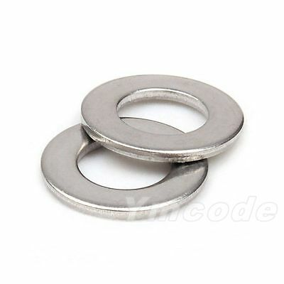 Qty100 M3 3mm Metric A2 Stainless Steel Flat Washer DIN125