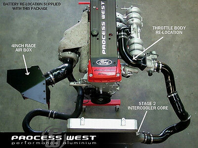Process West Stage 2.3 Intercooler Package For Ford Ba / Bf