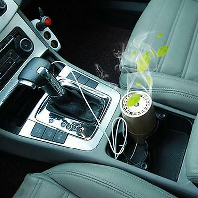 Portable USB Mini Car Vehicle Air Cleaner Purifier Hepa Filter Ionizer Freshener
