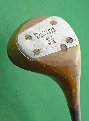 "Classic Collectible Forgan St Andrews 2 1/2 wood True Temper ""M"" FREE SHIPPING"