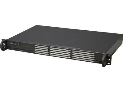 Supermicro Superchassis Cse-504-203B 200W Mini 1U Rackmount Server Chassis (Blac