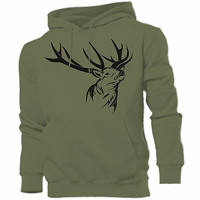 DEER hunting shooting stalking hoodies Father's Day birthday Xmas gift