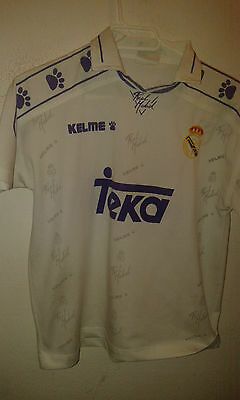 Real Madrid Age 14 Camiseta Futbol FOotball Shirt