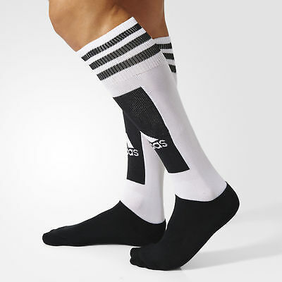 New Adidas Performance Mens Light Breathable White Black Weightlifting Socks