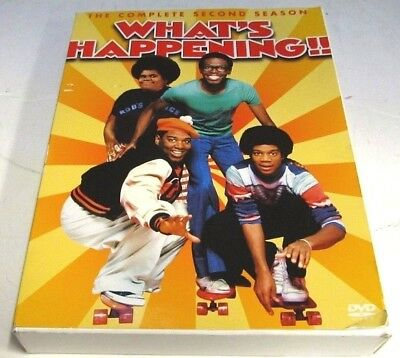 What's Happening!! - The Complete Second Season (DVD, 2004, 3-Disc Set)