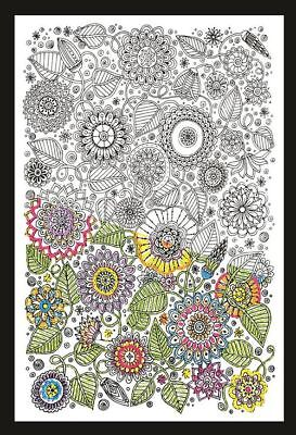 Design Works Floral - Zenbroidery Fabric Pack Kit