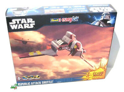 Star Wars Revell easy kit Republic Attack Shuttle 06672 , scale 1:120 NEU