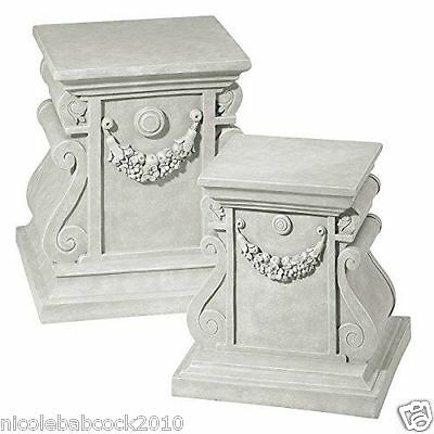 Column Pedestal Plinth Architectural Antique Style Roman Greek Large  Base