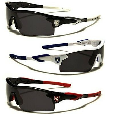 Polarized Khan Wrap Around Men's Sport Cycling Fishing Baseball Sunglasses