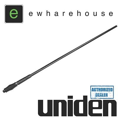 UNIDEN AT970BK FIBREGLASS UHF CB ANTENNA 6.6 dBi BLACK