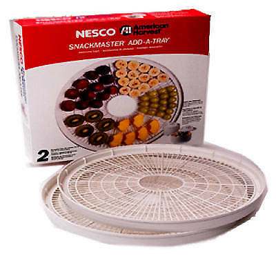 Metalware/Nesco WT-2SG 2-Pack 13.75-Inch Add-A-Tray Food Dehydrator Accessory Pa