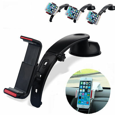 360° Universal In Car Dashboard Mount Holder Stand Cradle Cell Mobile Phone GPS