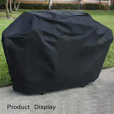 Waterproof Heavy Duty Outdoor Cart BBQ Cover Patio Gas Barbecue Grill Cover