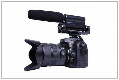 TAKSTAR SGC-598 Photography Interview MIC Microphone for Nikon Canon Camera DV