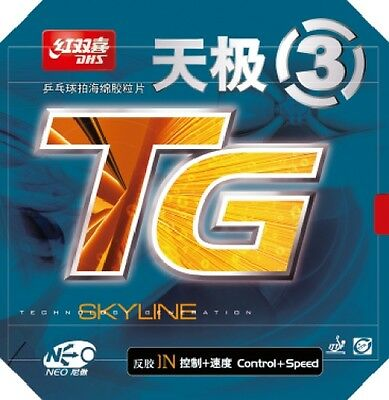 DHS NEO Skyline TG3 Table Tennis Rubber