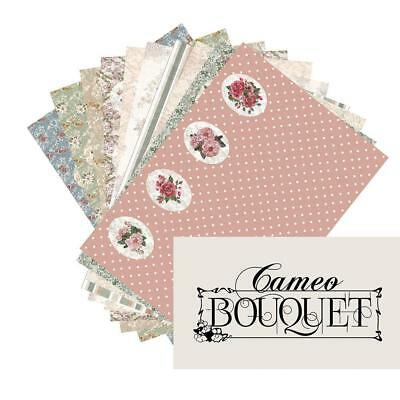 Tonic studios forever moments cameo bouquet 56e  paper pack 150gsm