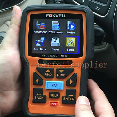 FOXWELL NT301 OBD2 EOBD CAN Engine Scanner Car Diagnostic Scan Tool Code Reader